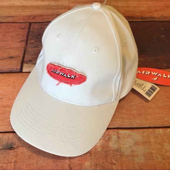 c00c707a270 Airwalk x Staple Baseball Cap Hat One Size White